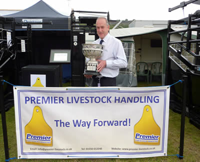 Dr Alban Davies Trophy at Royal Welsh Show 2011