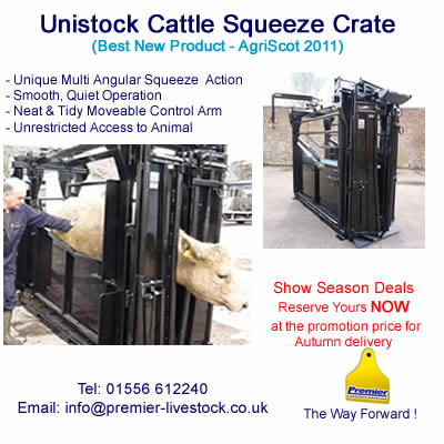 Unistock Cattle Squeeze Crush 2012 Show Season Promotion