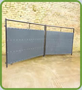 Unistock Sheeted Cattle Hurdle 1