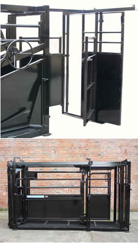 Unistock Veterinary Area Sliding Access Doors 7